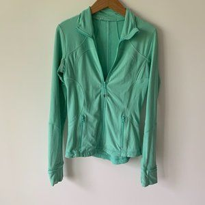 Lululemon Teal Zip Up Athletic Jacket